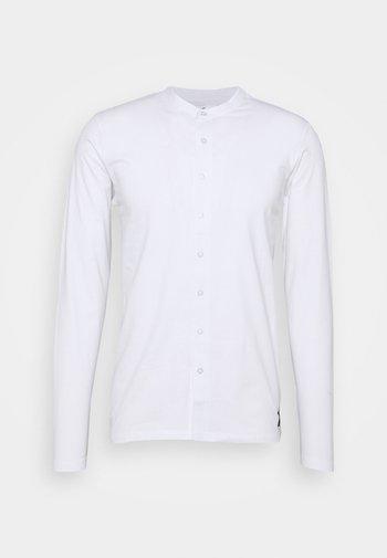 REACT GRANDAD SOLID - Camicia - white