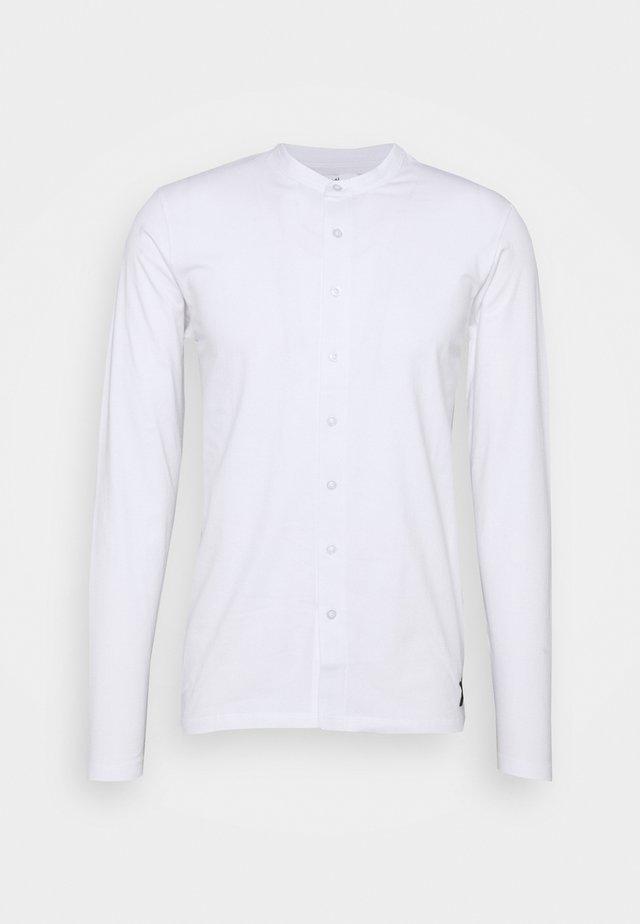 REACT GRANDAD SOLID - Košile - white