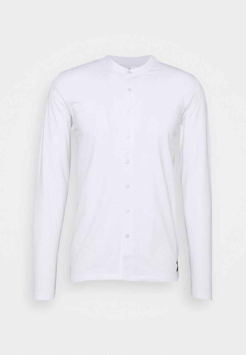 Nominal - REACT GRANDAD SOLID - Camicia - white