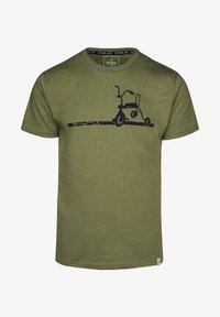 Spitzbub - ERICH - Print T-shirt - green - 0