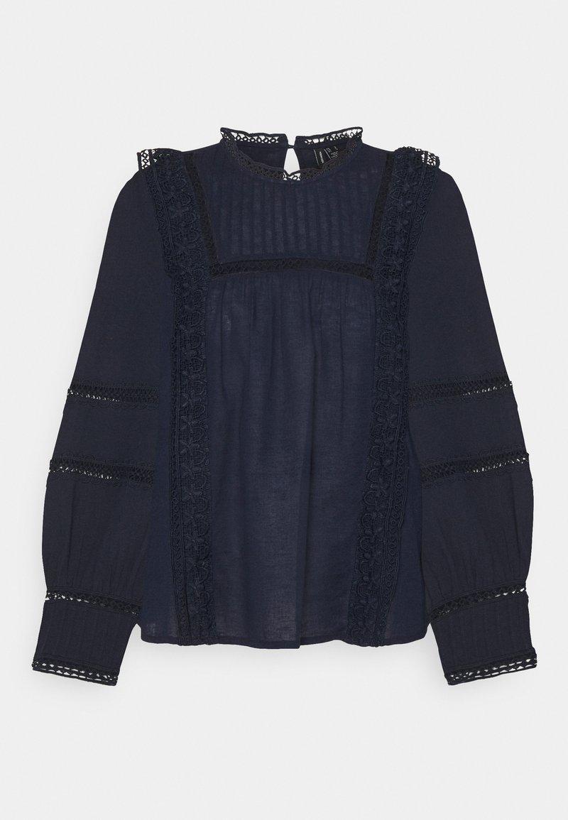 Vero Moda - VMETTY - Long sleeved top - navy blazer