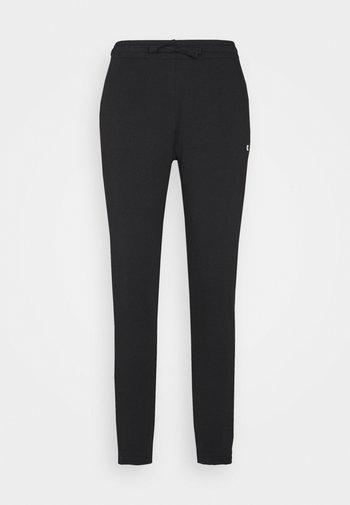 CUFF PANTS - Pantalones deportivos - black
