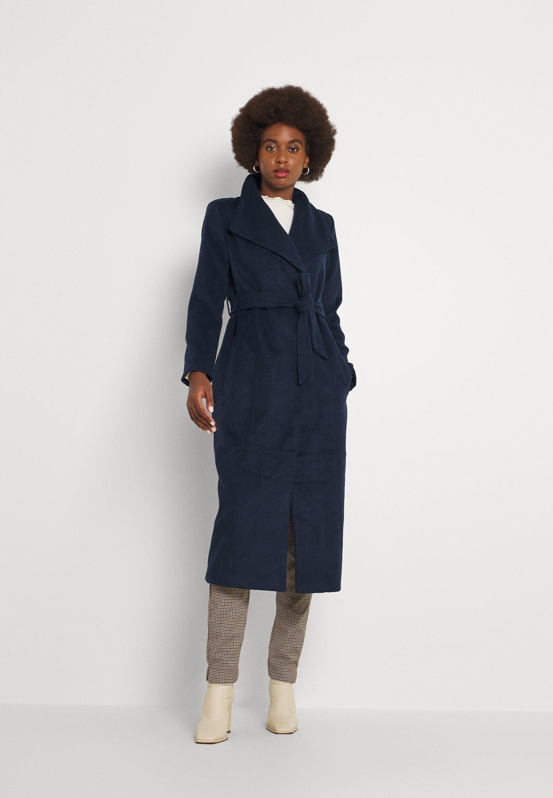 Women VIPOKU BELTED LONG COAT - Classic coat