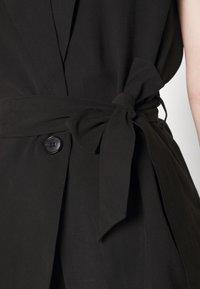 Bruuns Bazaar - LUCILLE LOEWE - Waistcoat - black - 6
