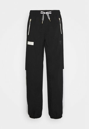 HOOPS WARM UP PANT - Tracksuit bottoms - black/white