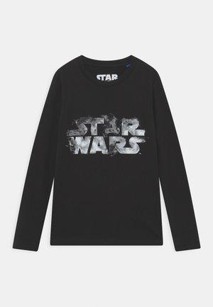 JCOGALAXY STAR WARS TEE LS CREW NECK JR - Top sdlouhým rukávem - black