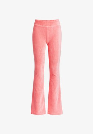 FLARED LEGGING - Leggings - Trousers - pink