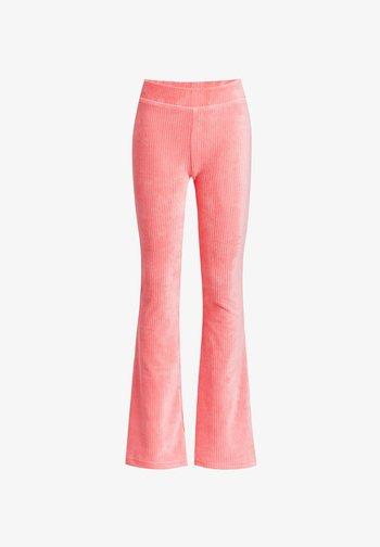 FLARED LEGGING - Legging - pink