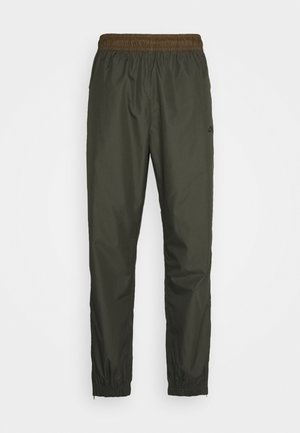 TRACK PANT UNISEX - Trainingsbroek - cargo khaki/yukon brown/black