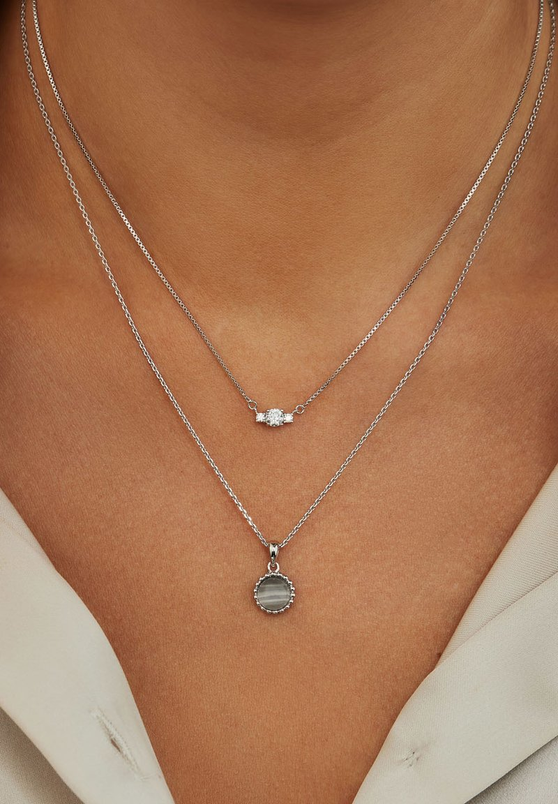 Parte di Me - Necklace - silver-coloured