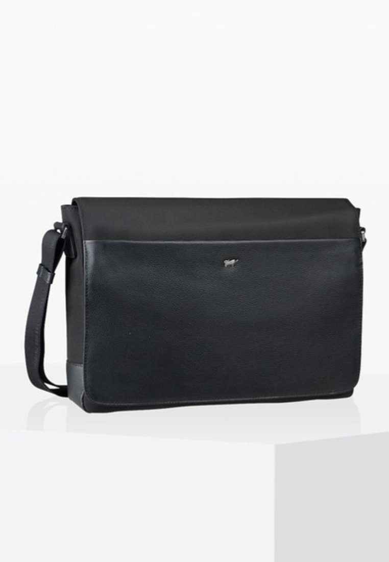 Braun Büffel - MURANO - Across body bag - black