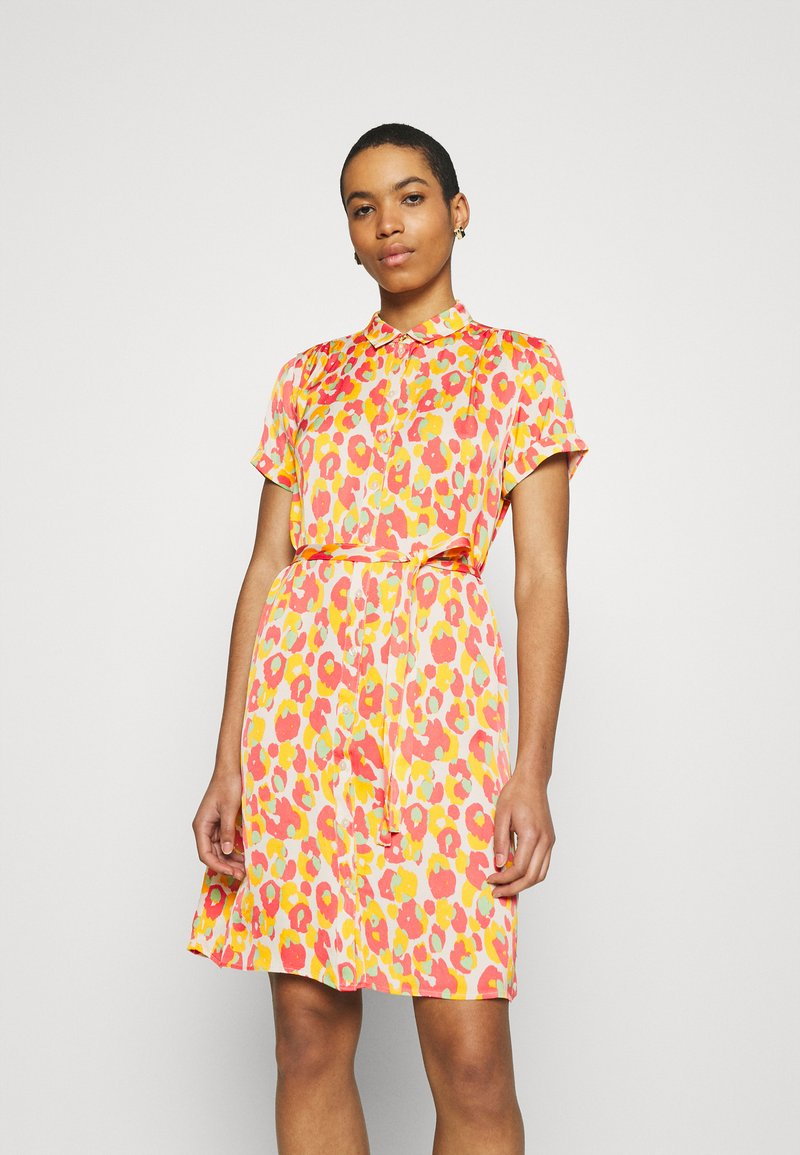 Fabienne Chapot - BOYFRIEND COCO DRESS - Shirt dress - pink