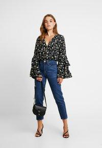 Even&Odd - Jeans baggy - dark blue denim - 1