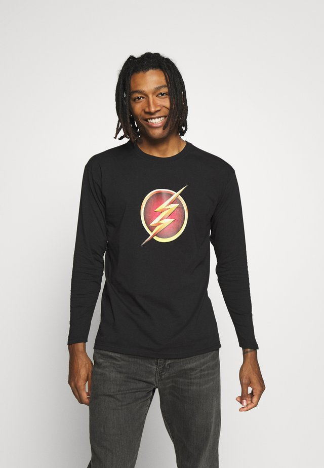 FLASH LONG SLEEVE TEE - Langarmshirt - black