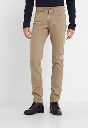 DYED JEANS - Straight leg jeans - taupe