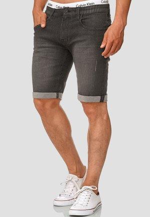 CUBA CADEN - Denim shorts - grey