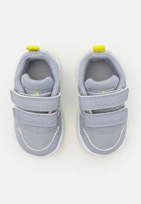 adidas Performance - TENSAUR UNISEX - Sportovní boty - halo silver/crew navy/acid yellow - 3