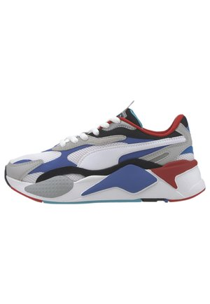 PUZZLE YOUTH - Trainers - puma w-dazzlingblue-highrise