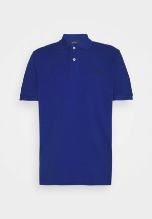 SUMMER RUGGER - Polo shirt - college blue
