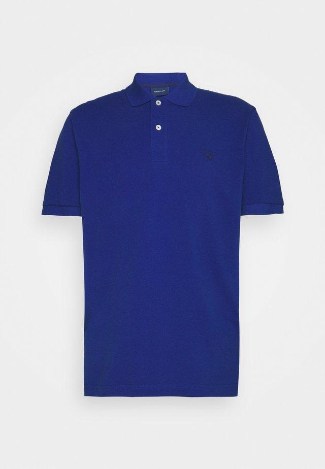 SUMMER RUGGER - Polo shirt - college blue