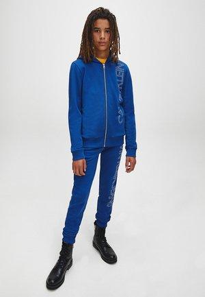 Zip-up hoodie - naval blue