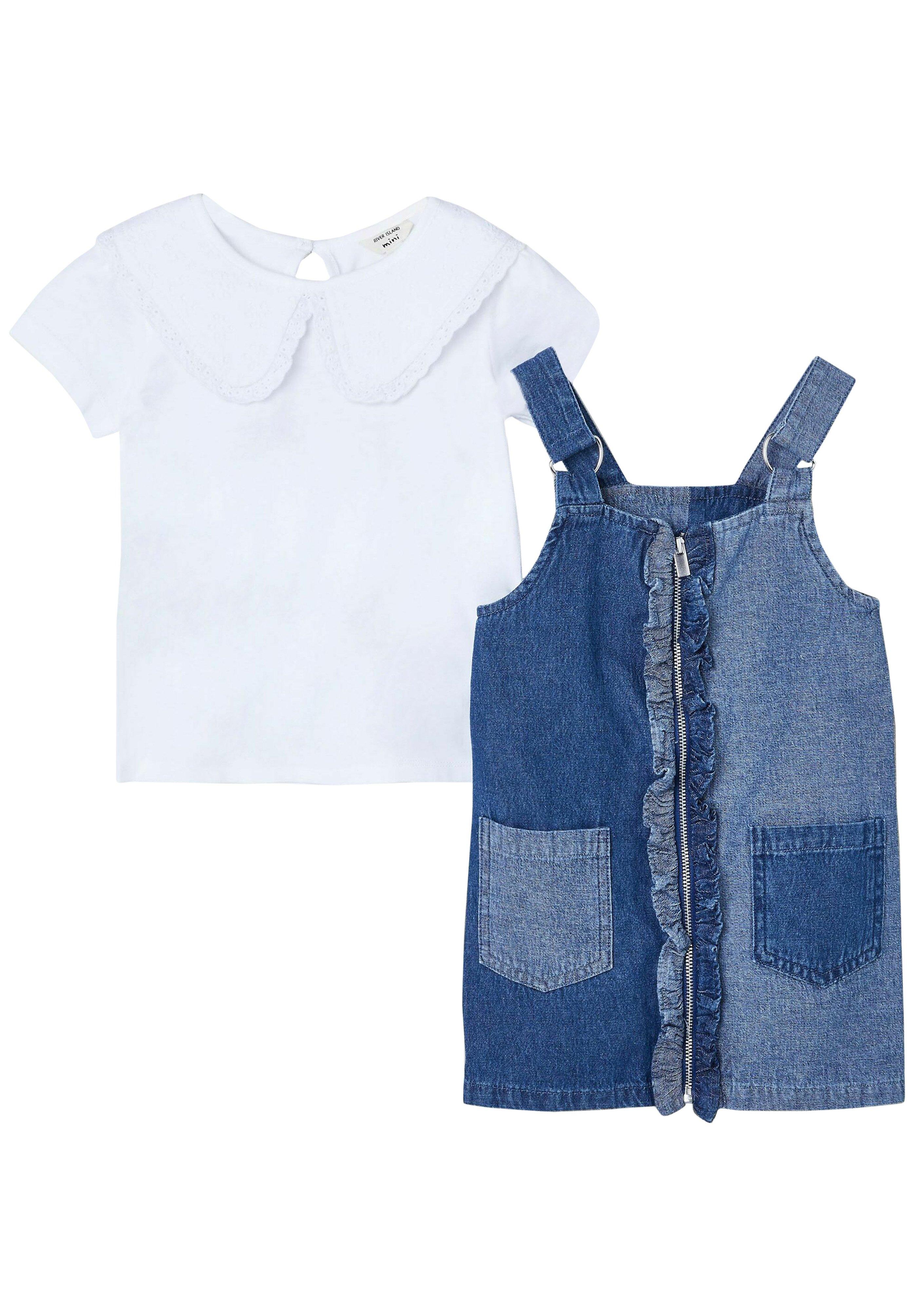 Kinder 2 PACK - Jeanskleid