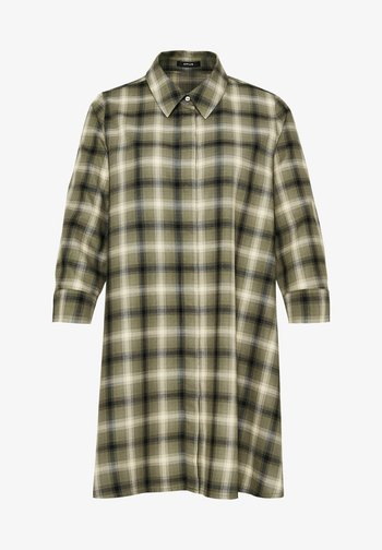 FAUTA - Button-down blouse - taupe