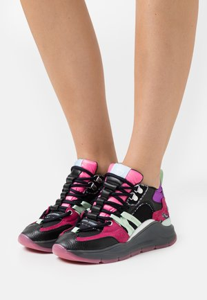 RUNNING HIKE LACE UP - Baskets basses - multicolors