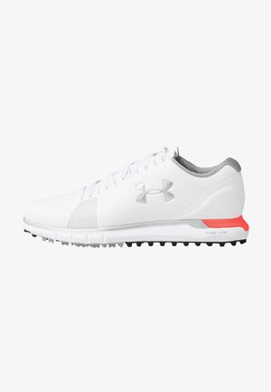 HOVR FADE - Golf shoes - white/beta/metallic silver