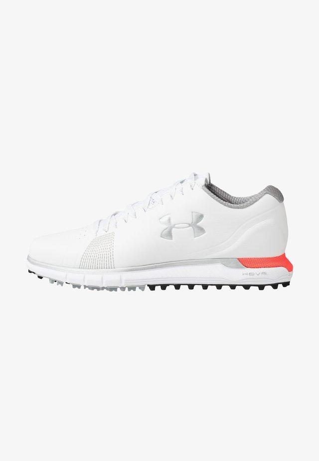 HOVR FADE - Golf shoes - white/beta/metallic silver