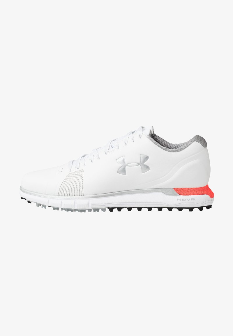 Under Armour - HOVR FADE - Scarpe da golf - white/beta/metallic silver