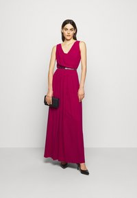 Lauren Ralph Lauren - GRACEFUL LONG GOWN - Vestido de fiesta - modern dahlia - 1