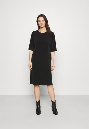 DRESS JENNA - Jersey dress - black