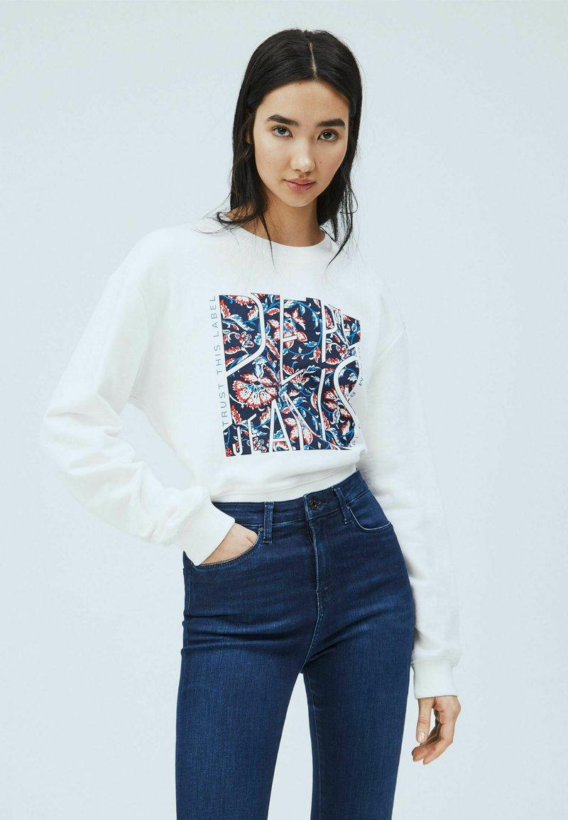 Pepe Jeans - BAMBIE - Sweatshirt - blanco off