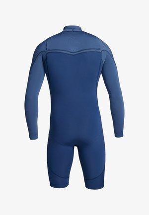 QUIKSILVER™ 2/2MM HIGHLINE LIMITED - LANGÄRMELIGER CHEST ZIP SPR - Wetsuit - iodine blue/ cascade blue