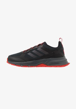 ROCKADIA TRAIL 3.0 - Trail running shoes - core black/bright metallic/grey six
