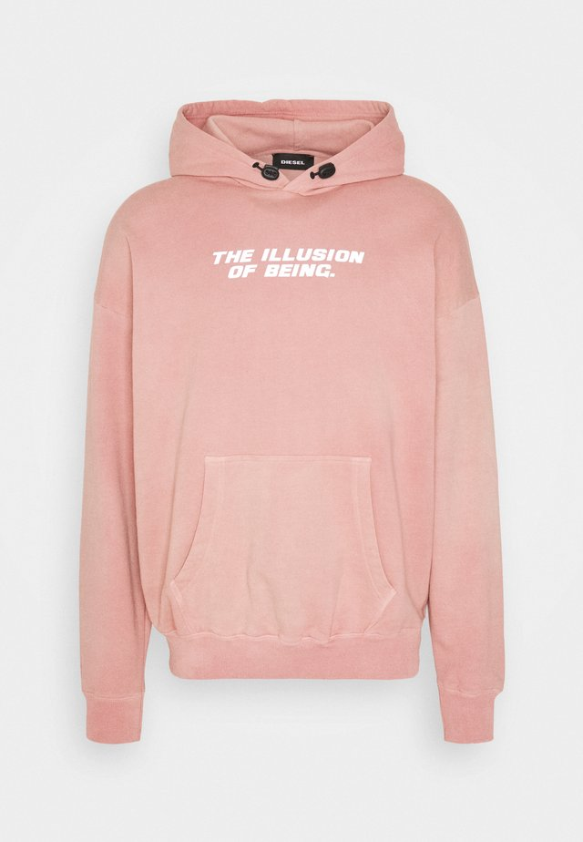 S-UMMEREL-N73 SWEAT-SHIRT UNISEX - Hoodie - soft rose