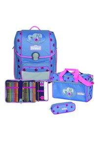 Scout - SET - Schooltas set - light blue - 1
