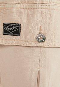 Bershka - Trousers - mottled beige - 5