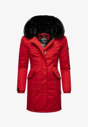 KARAMBAA - Winter coat - light red