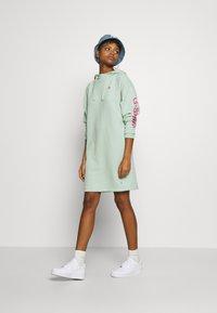 G-Star - SCOLLA - Denní šaty - freeze green - 1