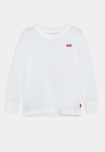 BATWING CHESTHIT TEE UNISEX - Langærmede T-shirts - white
