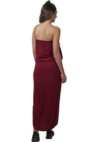 Urban Classics - Maxi dress - burgundy - 1