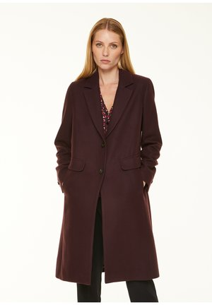 MIT COSY TOUCH - Short coat - berry