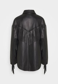 MM6 Maison Margiela - Veste en cuir - black - 1