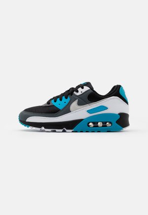 AIR MAX 90 2 UNISEX - Trainers - black/neutral grey/dark grey/white/laser blue/metallic silver