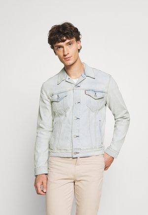 THE TRUCKER JACKET - Veste en jean - pale shade indigo