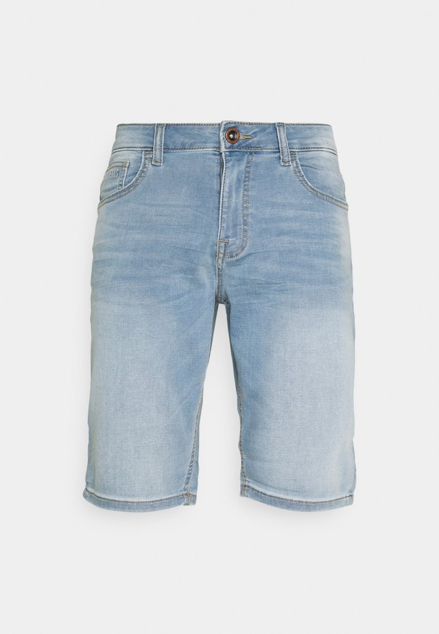 SEATLE - Denim shorts - bleach used