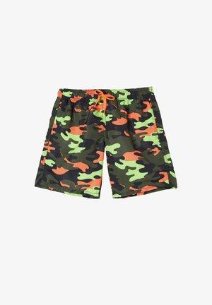 Surfshorts - st.orange camouflage