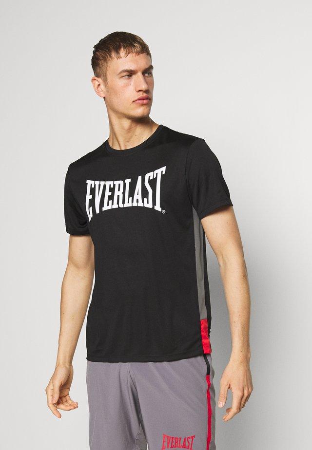 JUMP - T-shirt imprimé - black
